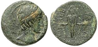 Caligula, 16 March 37 - 24 January 41 A.D., Apamea, Phrygia Bronze