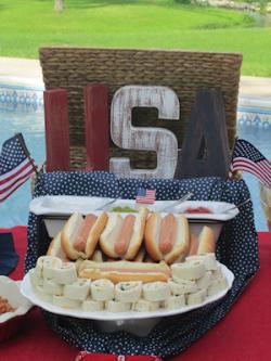 Food Table Decor - Patriotic