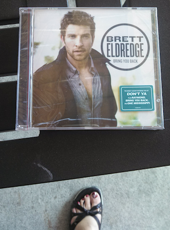 My CD (and my foot)