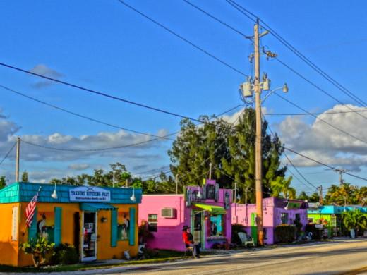 Colorful Downtown Matlacha Florida