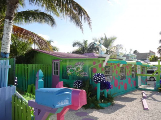 Leoma Lovegrove Gallery & Gardens in Matlacha Florida