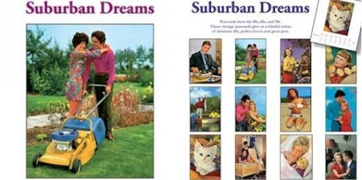 Retro Style Suburban Dreams Calendar
