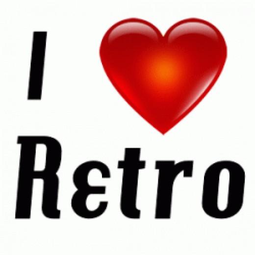 I love retro style