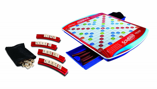Scrabble Game Deluxe Edition