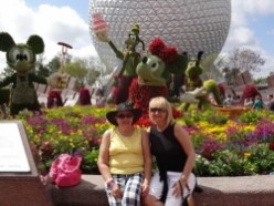 A Day at Disney's Epcot - With My Best Friend!