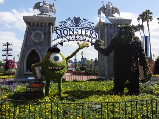 Monsters University  (Disney Pixar - Coming to theaters in 3-D this summer!)