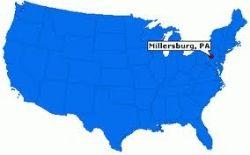 Millersburg, PA ~ Population 2565