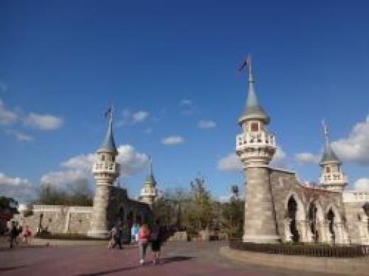 The NEW Fantasyland Entrance
