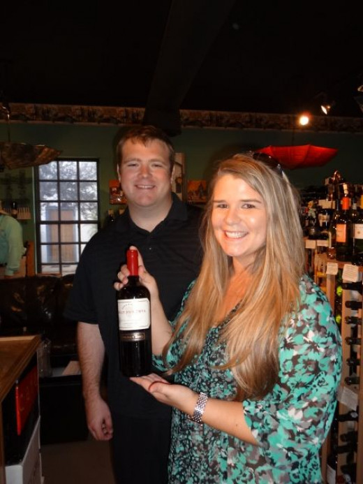The Gifted Cork - our starting point with our new friends!