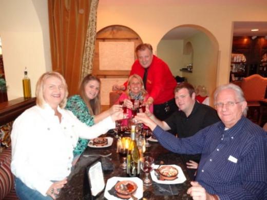 Aviles Restaurant at the historic bayfront Hilton!