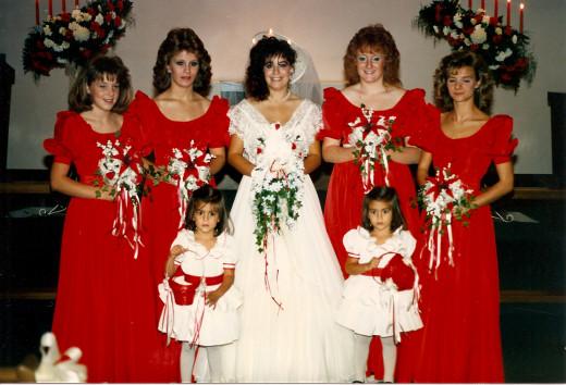 My Wedding - 1986