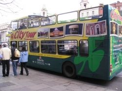 Dublin Tour Bus