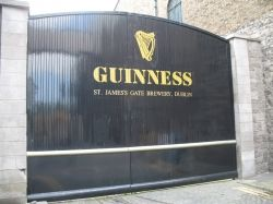 Guinness Factory in Dublin