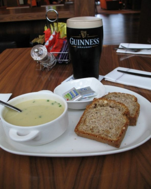Lunch in Ireland
