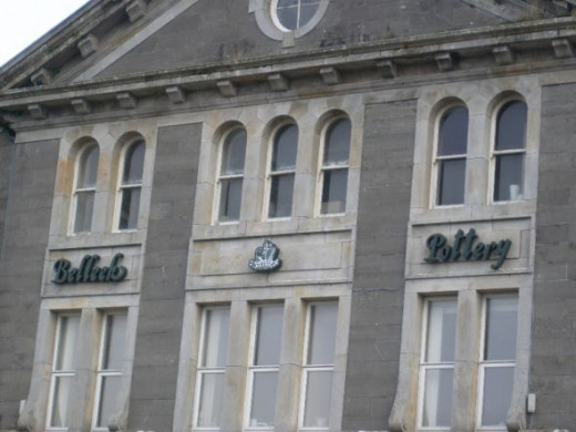 Belleek Pottery Factory in Ireland