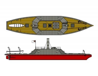 CSS Albemarle   Ironclad Ships