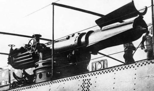 Torpedo Tube on USS Winslow