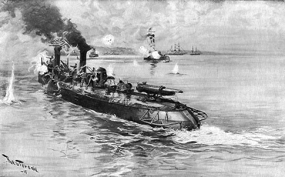 USS Winslow from Harpers Magazine