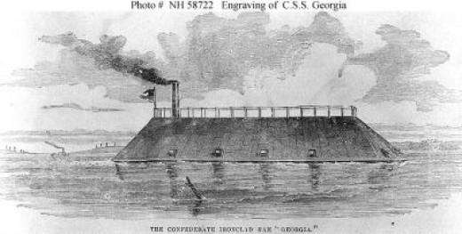 CSS Georgia, Confederate Ram