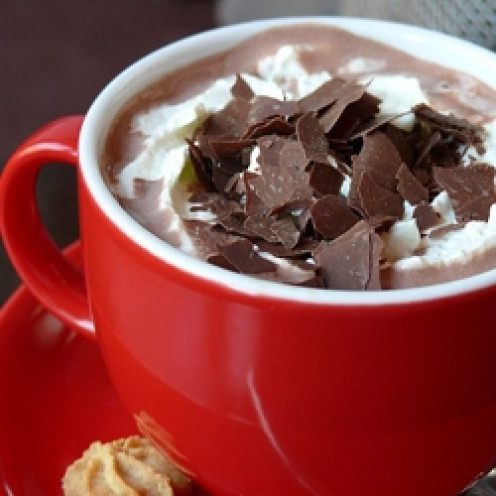 Have everything on hand to have a delicious cuppa cocoa.