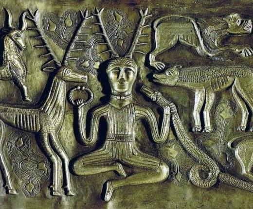 Possible depiction of Cernunnos