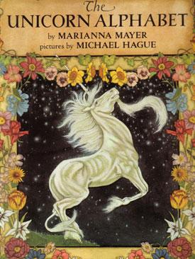 Scan of my copy of the Unicorn Alphabet