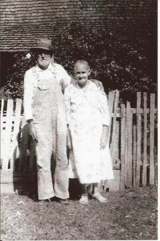 My grandparents, Cora and David Henry Guinn.