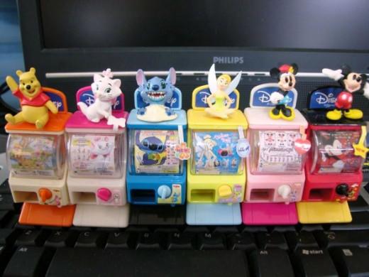 Disney Series Mini Capsule Machine Gashapons