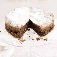 Torta Caprese Italian Chocolate Cake