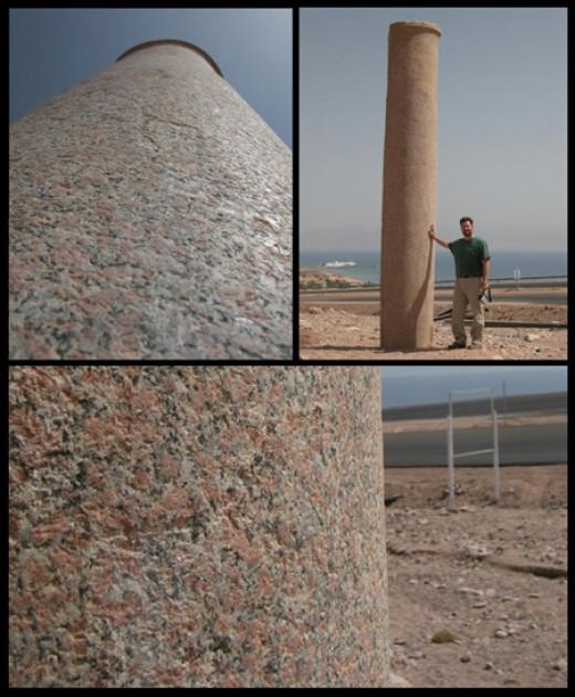 Red Sea Crossing Pillar Egypt Side