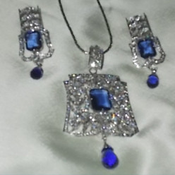 Created Blue Sapphire Jewelry:  Gorgeous and Classic Women's Gift