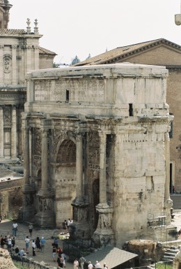 Arch of Septimus Severus.