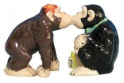 Monkey Salt and Pepper Shaker Sets
