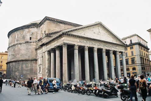 The Pantheon is the best preserved of all Roman buildings, and perhaps the best preserved building of its age in the world.