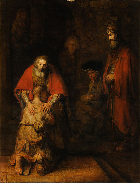 Rembrandt's Return of the Prodigal Son.