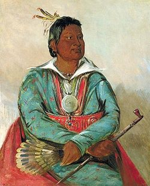 Mosholatubbe Choctaw Chief
