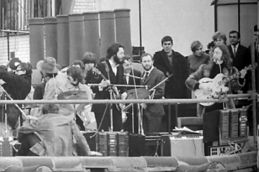 The Beatles - Rooftop Performance