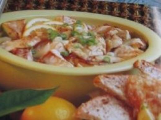 Stir fry lemon ginger fish. Photo Credit - Elsie Hagley