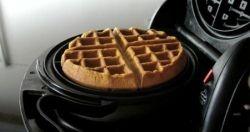 Making Waffles in the Presto FlipSide Belgian Waffle Maker