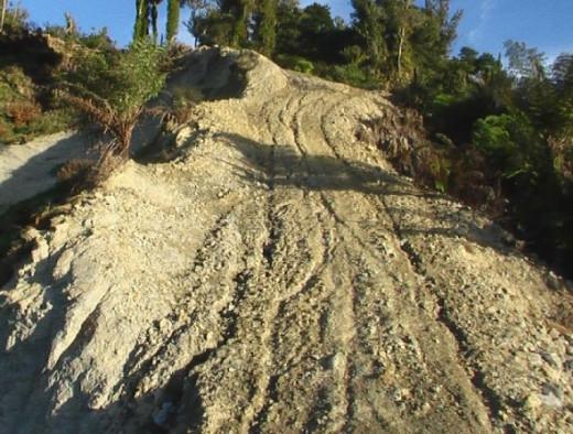 Erosions in gullies. Photo Credit - Elsie Hagley.