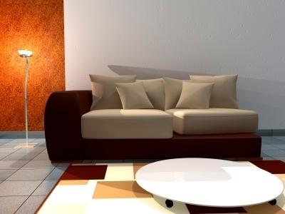 Beautiful lighting making the room look warm and relaxing. Image: Salvatore Vuono / FreeDigitalPhotos.net