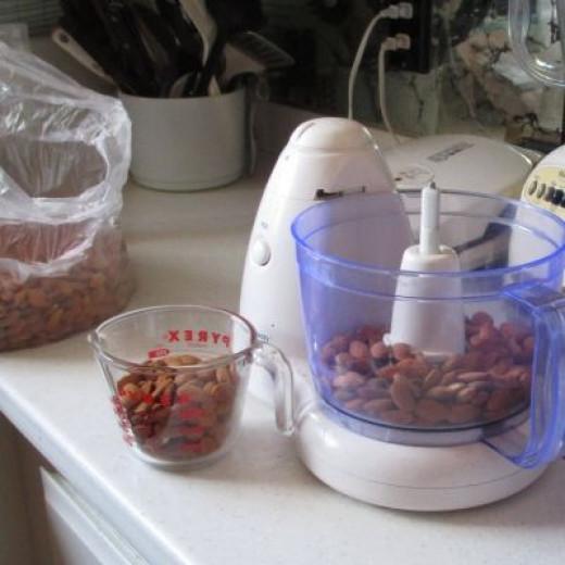 Almonds For Vegan Cookies