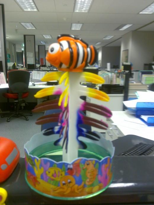 Nemo, the 'office fish'