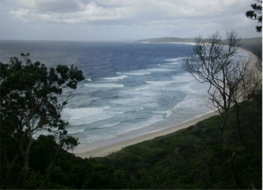 Beautiful Byron Bay.