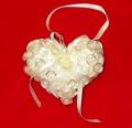 Handmade Button Pillow Christmas Tree Ornaments