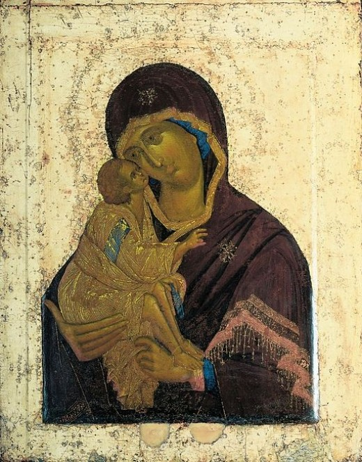 Orthodox Icon Our Lady of the Don