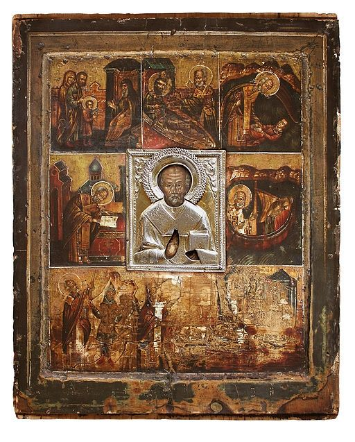 The miraculous Russian Icon of St. Nicholas