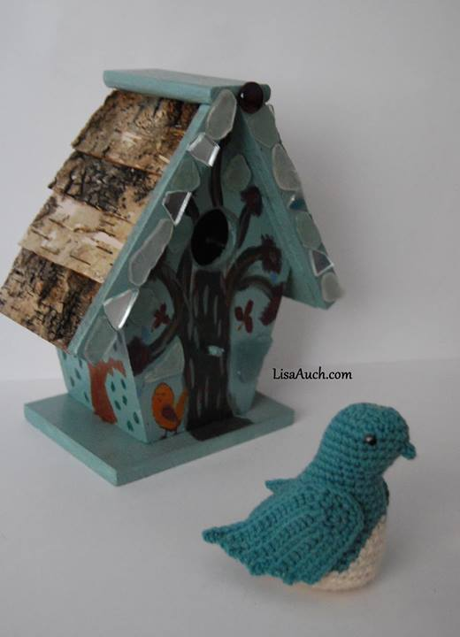 Crochet Bird pattern - Birdhouse designs