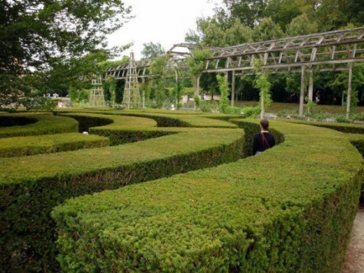 The labyrinth at Chamerolles