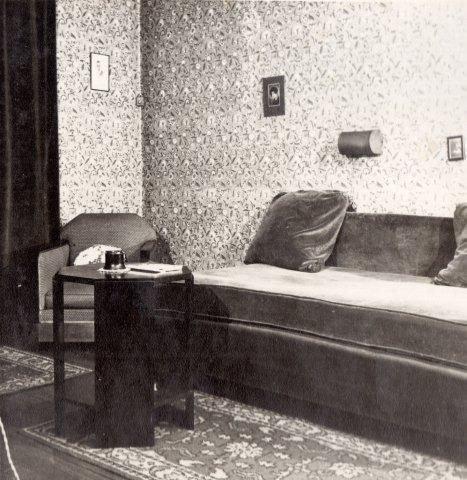 art deco boudoir